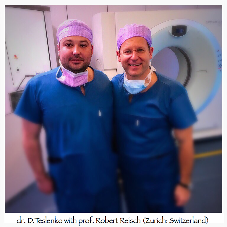 dr. D.Teslenko with prof. Robert Reisch (Zurich; Switzerland)